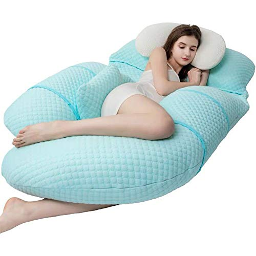 Whole Body Sleep Support Pillow - Neck and Back Pain, The...