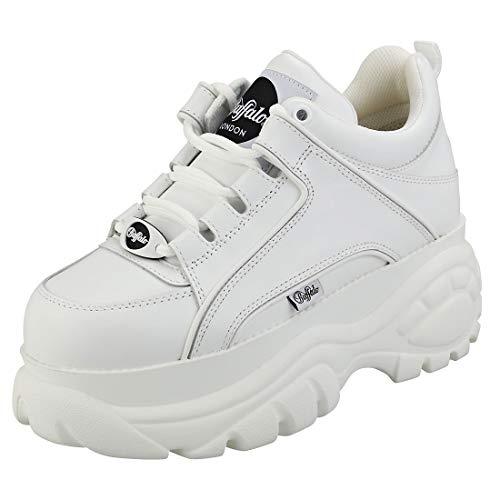 Buffalo London 1339-14 Donna Bianco Sneaker-UK 4 / EU 37