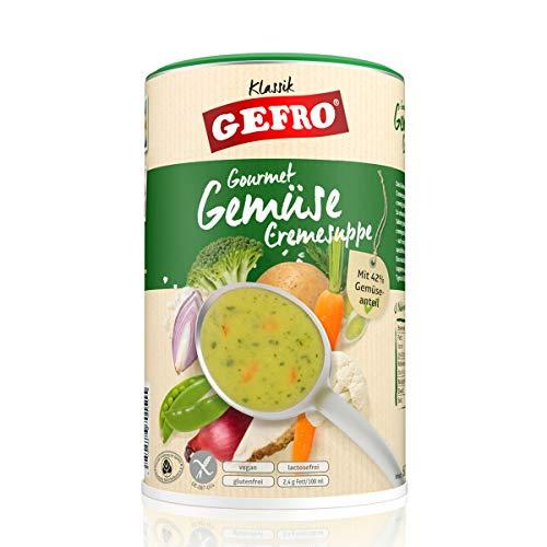 GEFRO Gemüsecremesuppe, hoher Gemüseanteil als eigenständige Suppe oder Andicken (600g)