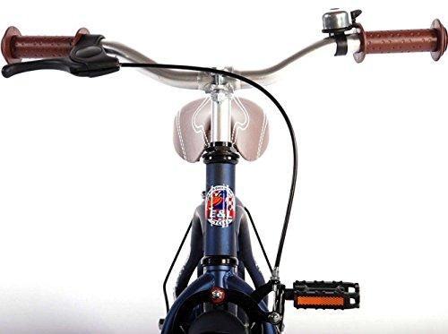 14 Zoll Fahrrad Qualitäts Kinderfahrrad mit Stützräder bike Blue Cruiser matt Blau 51401 - 4