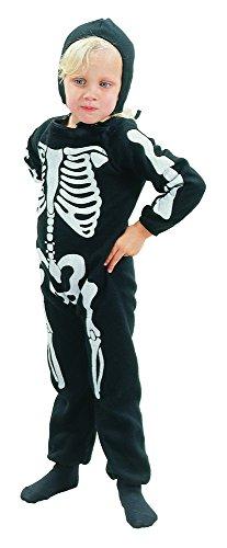 Bristol Novelty CC041 Skelett Kostüm für Kleinkinder