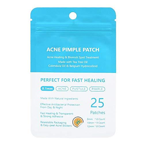 Pimple Patch Tea Tree Pimple Patch Traitement des cicatrices, traitement de l'enlèvement des cicatrices(Daytime use)