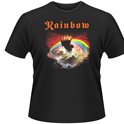 Plastic Head Herren T-Shirt Rainbow-Rising, Gr. Medium, schwarz