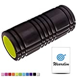Wearslim Professional Long Acupressure Grid Foam Roller for Deep Tissue Muscle Massage Exercise