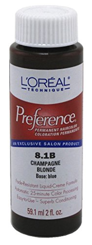 L'Oreal Preference Couleur # 8.1b Blond Champagne