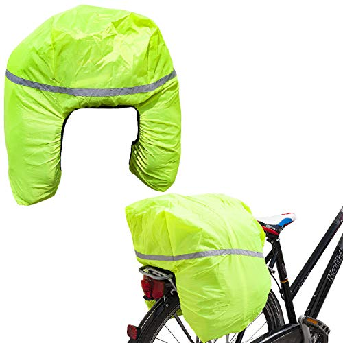 Regenschutz für Fahrradtasche