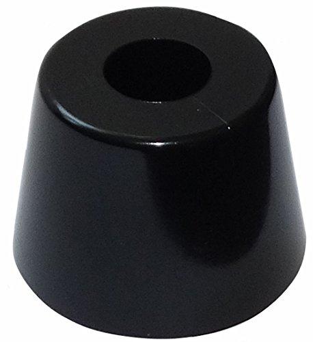 AERZETIX: 4 x Patas pies para Muebles de PVC A: 20mm Ø28mm,Negro