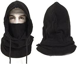 BINE Hats for Men Winter Hat Face Mask Winter Mask Mens Hat Balaclava Face Mask Black