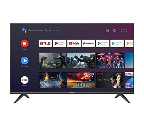 Smart TV 40 Pollici Full HD LED DVB-T2 Android/Wifi