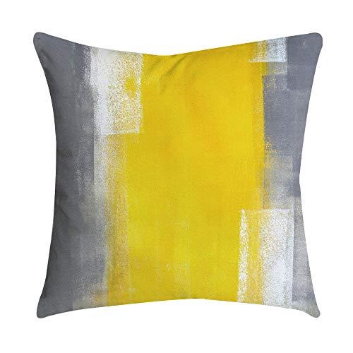 Fodera per cuscino foglia gialla ananas divano auto vita tiro copridivano decorazioni per la casa