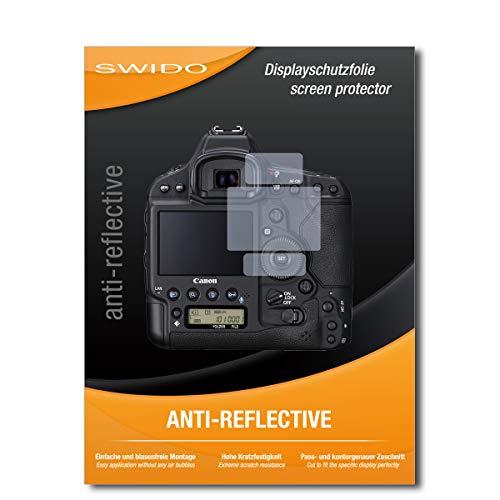 SWIDO Protector de Pantalla para Canon EOS-1D X Mark III [Anti-Reflex], Antirreflectante, Mate, Anti-Arañazos, Anti-Huella Dactilar - Película Protectora
