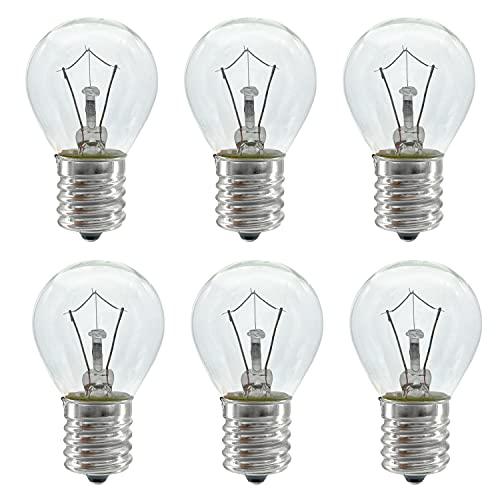 Lava Lamp Bulb, 6 Pack 25 Watt Lava Lamp Light Bulb, S11 E17...