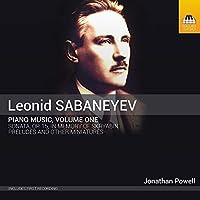 レオニード・サバネーエフ:ピアノ作品集 第1集