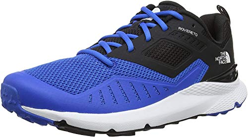 The North Face M Rovereto, Zapatillas de Running Hombre, Blue (Bomber Blue/TNF Black Sa9), 42