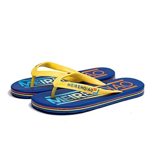 HRFHLHY Heren Flip Flop Zomer Strand Sandalen Clip voeten drag antislip