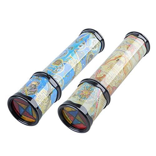 ghfashion Drehbares Kaleidoskop-Spielzeug für Kinder, Papier, Zufällige Farbauswahl, Small#