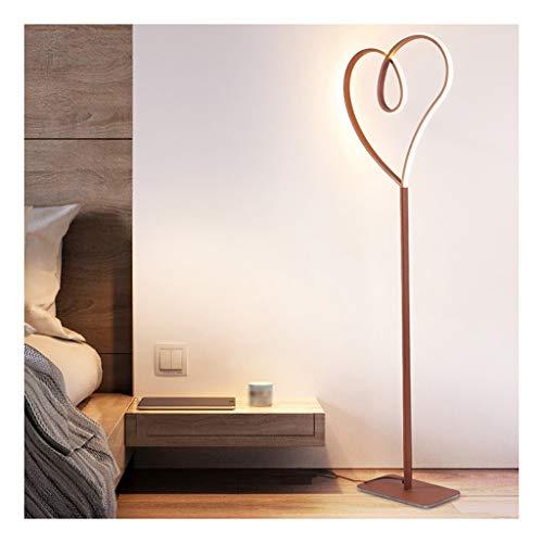 Floor Lamp Led-vloerlamp in hartvorm, creatief, schattig, voor kinderkamer, prinses, slaapkamer, decoratie, tafellamp, leeslamp