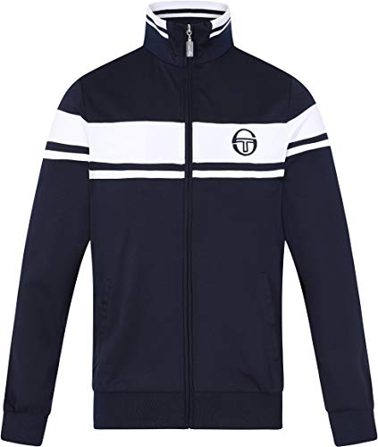 Sergio Tacchini Damarindo Sweater Archivio - SS19 - Medium - Navy Blue