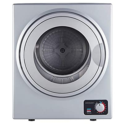Cookology CMVD25SL Mini Vented Dryer 2.5kg Silver