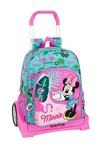 "La mejor mochila con ruedas de minnie: Minnie Mouse ""Palms"""
