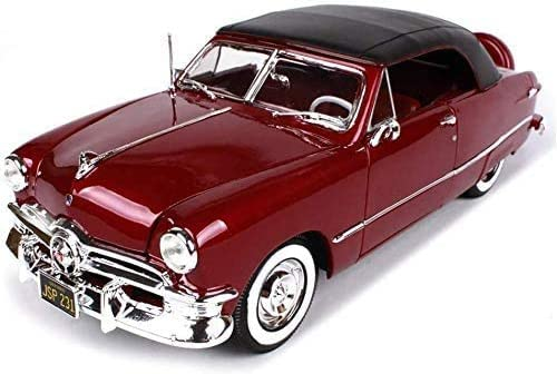 XingKunBMshop Model Car for OFFer Max 76% OFF Simul Ford 1950 1:18