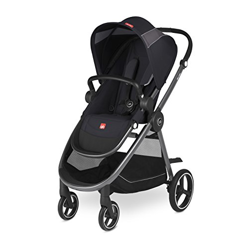 gb Gold Beli Air4, Kinderwagen, Kollektion 2018, satin black