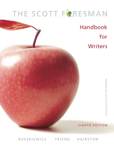 The Scott Foresman Handbook for Writers (8th Edition) (MyCompLab Series)