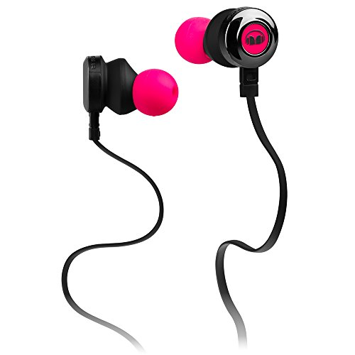 Monster ClarityHD High Performance InEar-Kopfhörer (mit 1-Button ControlTalk Universal) Pink