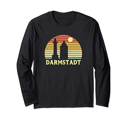Darmstadt Souvenir Geschenk für Darmstädter & Darmstädterin Langarmshirt