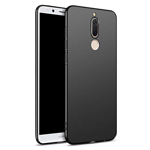 Nero Sottile Silicone Morbido TPU Custodia Cover Slim Case + Pellicola Protettiva Per Huawei Mate 10 Lite Vooway® MS50022
