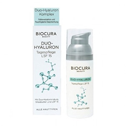 BIOCURA - Beauty - Duo-Hyaluron Tagpflege LSF 15 oder Nachtpflege auswählen (Tagescreme)