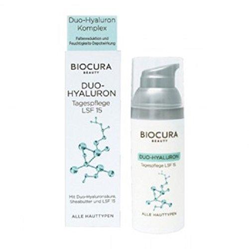 BIOCURA - Beauty - Duo-Hyaluron Tagpflege LSF 15 oder Nachtpflege auswählen (Tagescreme)
