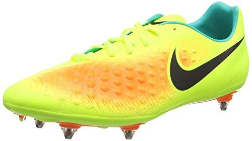Nike Herren Magista Onda II SG Fußballschuhe Amarillo (Volt/Black-Total Orange-Clear Jade) 44.5 EU