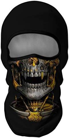 Venswell 3D Balaclava Ski Mask Cool Skull Face Mask Men Women Cycling Motorcycle Halloween product image