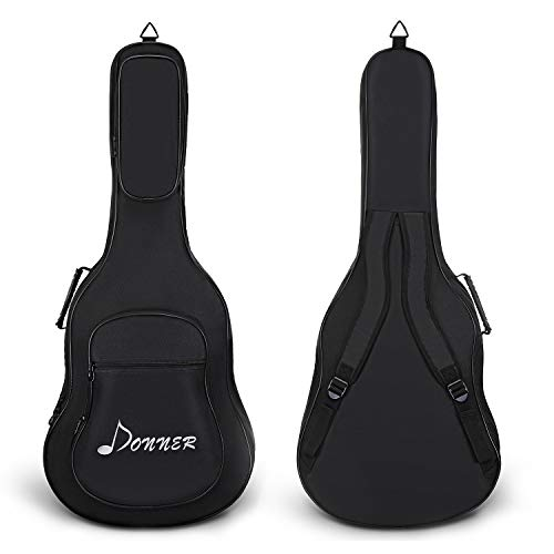 Funda de Guitarra Tbest   Forro impermeable con gran diseño musical.