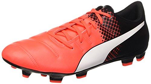 Puma Herren EVO Power 4.3 FG 103585 Fußballschuhe, Rot (Red Blast White Black 03), 42.5 EU