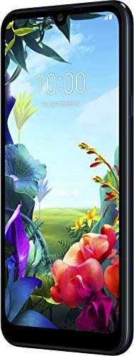 LG K40s Smartphone (15,46 cm (6,09 Zoll) IPS LC-Display, 32 GB interner Speicher, 2 GB RAM, MIL-STD-810G, Android 9.0) Aurora Black