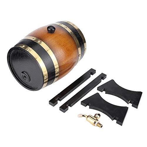 Decantador de barril de whisky Grabado Barriles de envejecimiento de whisky Dispensador de barril casero Roble American Premium para vino, licores, cerveza y licor