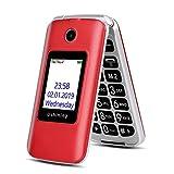 3G Téléphone Portable Senior Clapet débloqué, Grandes Touches Téléphone Mobile...