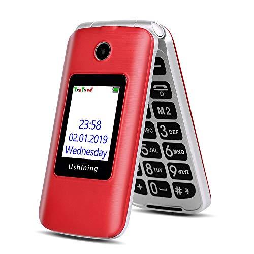 3G Téléphone Portable Senior Clapet débloqué,...