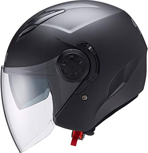 GIVI H123BN90058 Hps 12.3 Stratos Deni Jet Casco, Color