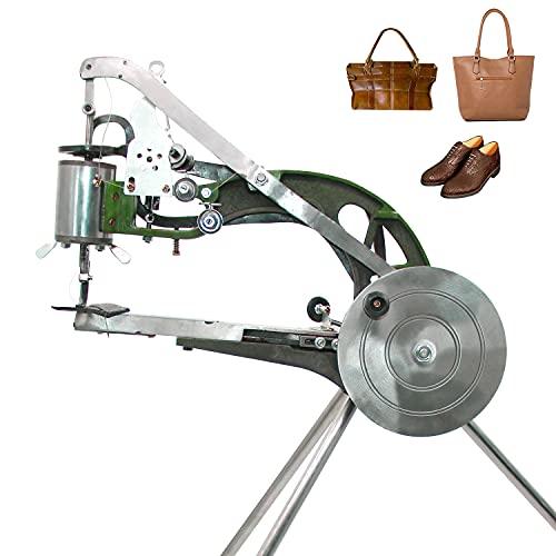 ColouredPeas Shoe Repair Hand Sewing Machine, Shoe Cobbler Machine with Nylon Line, Manual Mending for...