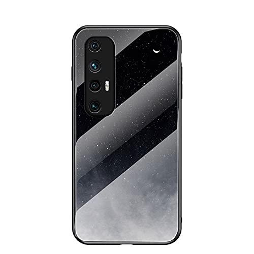 Hongjian Caso per Xiaomi Mi 10 S M2102J2SC Vetro Temperato indietro shell Caso Copertura 3