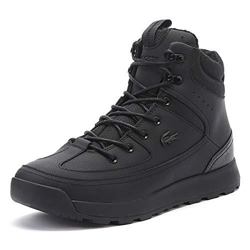 Lacoste Urban Breaker 738CMA006702H Schwarz Winter Stiefel, Größe:46.5, Farbe:schwarz