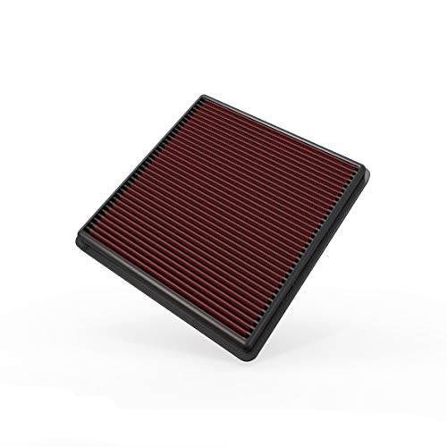 K&N Engine Air Filter: High Performance, Washable, Replacement Filter: Compatible with 2007-2019 Ford/Lincoln Truck and SUV (F150, F150 Raptor, Expedition, Navigator, F250/350/450/550/650), 33-2385