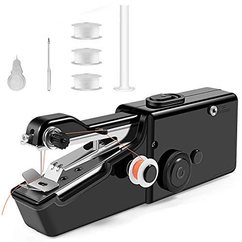 Mini Sewing Machine, Portable Handheld Sewing Machine, Electric Stitching...