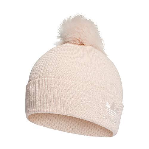 adidas Damen W FUR POM BEANI Hat, pink Tint/White, OSFM