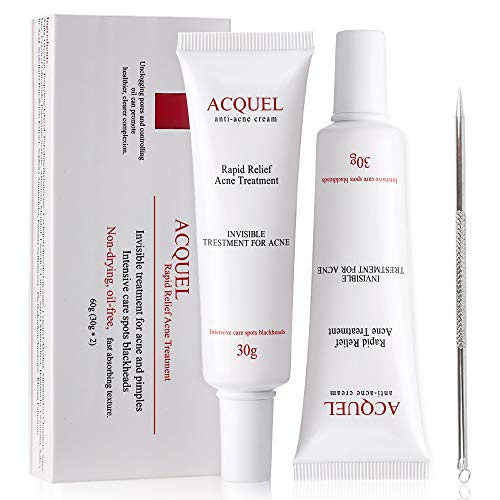 Acne Treatments Anti Acne Face Cream with Salicylic Acid Acne Scar Removal...