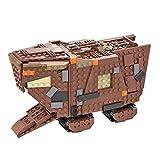 LAKA 75059 Jawa Sandcrawler 828Pcs MOC-51724 Space War Desert Creeper - Kit de montaje de vehículo compatible con Lego Star Wars