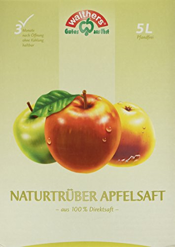Walthers Apfelsaft Direktsaft natur (1 x 5 l Saftbox)